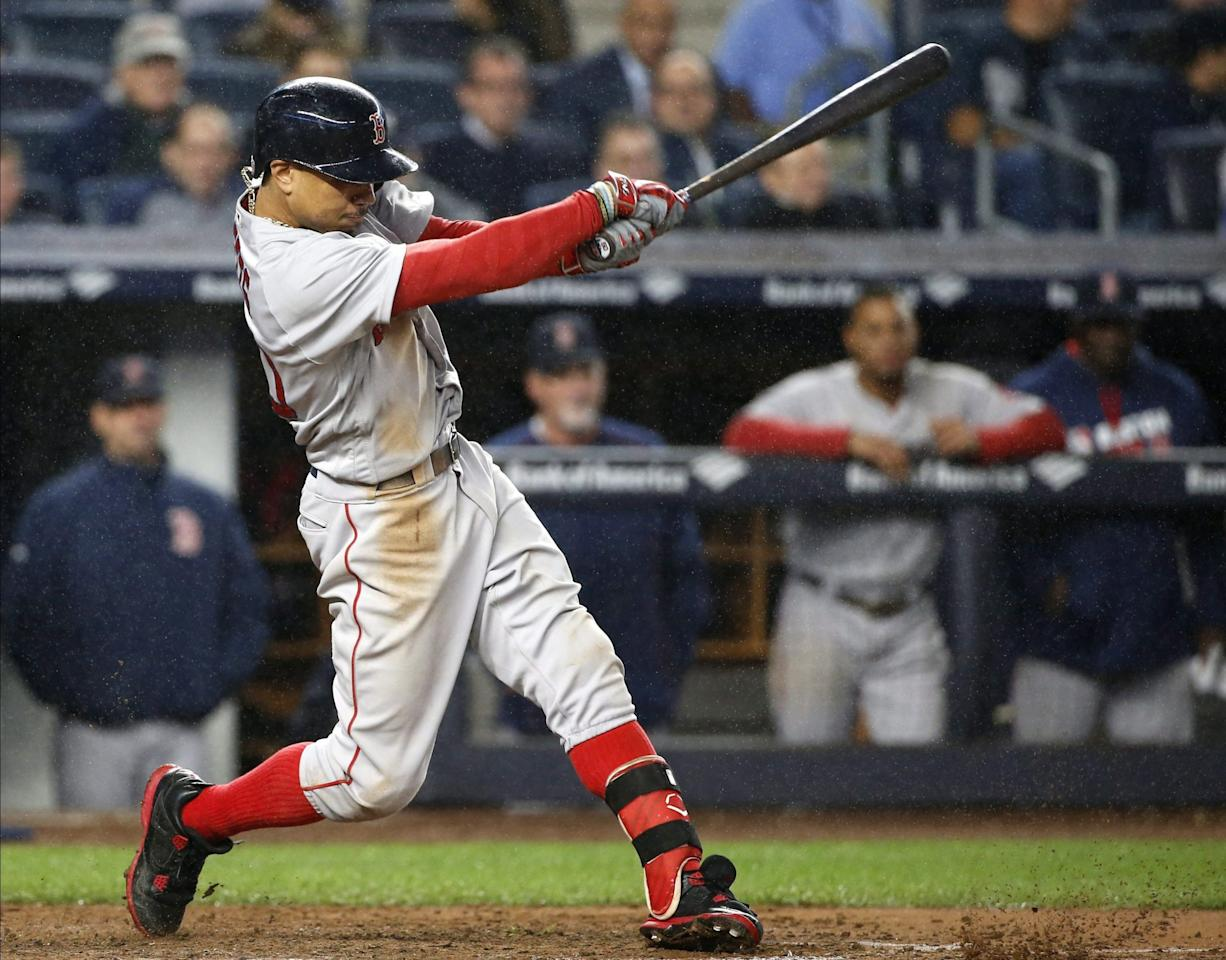 <p>The AL East figures to be fiercely competitive, but the Red Sox are the top dogs. This will be the Blue Jays first chance to test themselves against the best. (AP) </p>