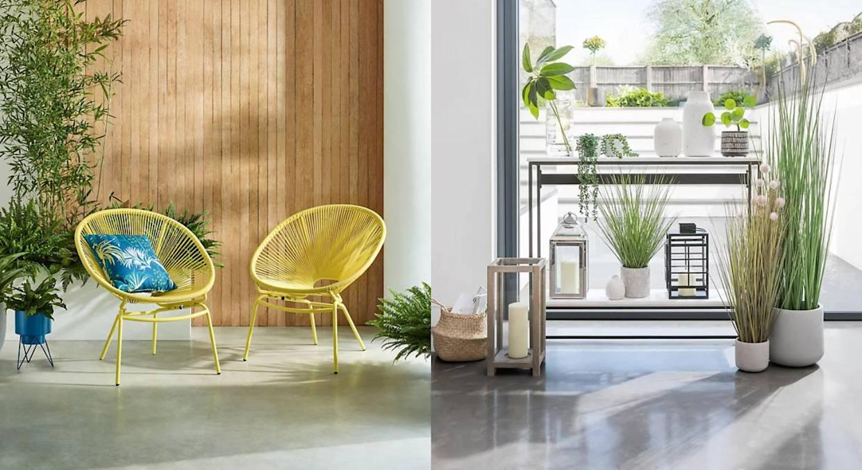 The new-in M&S home summer items we're loving. (Marks & Spencer)