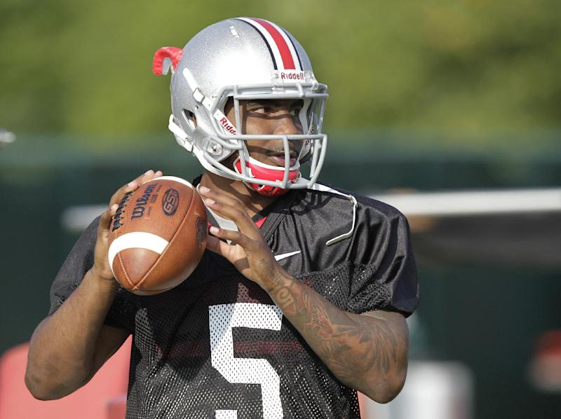 Buckeyes taking it easy with QB Braxton Miller