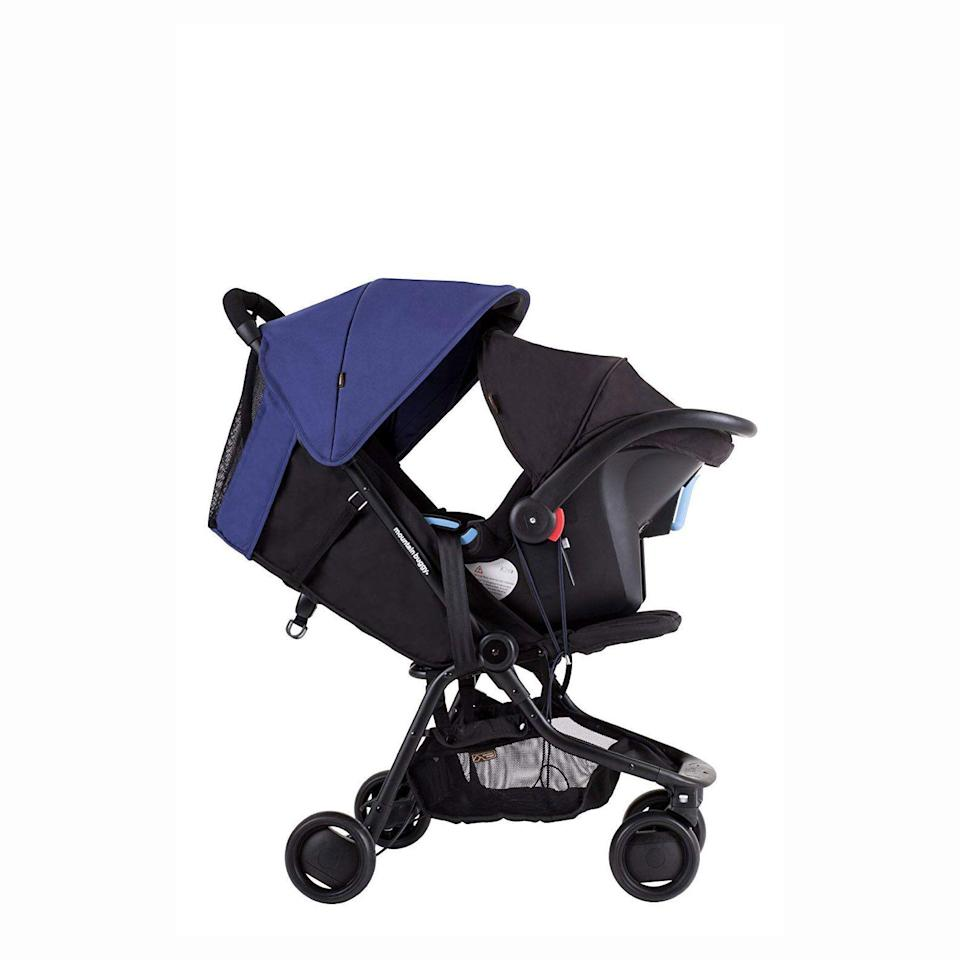 "<p><strong>Mountain Buggy</strong></p><p>bedbathandbeyond.com</p><p><strong>$199.99</strong></p><p><a href=""https://go.redirectingat.com?id=74968X1596630&url=https%3A%2F%2Fwww.bedbathandbeyond.com%2Fstore%2Fproduct%2Fmountain-buggy-reg-nano-travel-stroller%2F5207933%3FskuId%3D45845567%26mrkgcl%3D609%26mrkgadid%3D3253337676%26rkg_id%3D0%26enginename%3Dgoogle%26mcid%3DPS_googlepla_nonbrand_baby_local%26product_id%3D45845567%26adtype%3Dpla%26product_channel%3Dlocal%26creative%3D232742469049%26device%3Dc%26network%3Dg%26targetid%3D92700034063867363%26gclid%3DCj0KCQjw09HzBRDrARIsAG60GP8CcJQRMbasip2yCr54tBMTcOZ9T_vC4-xFCHAoYPMdmceig86sTagaAkYNEALw_wcB%26gclsrc%3Daw.ds&sref=https%3A%2F%2Fwww.goodhousekeeping.com%2Fchildrens-products%2Fbaby-stroller-reviews%2Fg31782776%2Fbest-lightweight-strollers%2F"" rel=""nofollow noopener"" target=""_blank"" data-ylk=""slk:Shop Now"" class=""link rapid-noclick-resp"">Shop Now</a></p><p>The Buggy Nano <strong>can now be used with newborns because it is infant car seat ready </strong>and compatible with the brand's <a href=""https://go.redirectingat.com?id=74968X1596630&url=https%3A%2F%2Fwww.bedbathandbeyond.com%2Fstore%2Fproduct%2Fmountain-buggy-reg-cosmopolitan-fabric-carrycot%2F3323329&sref=https%3A%2F%2Fwww.goodhousekeeping.com%2Fchildrens-products%2Fbaby-stroller-reviews%2Fg31782776%2Fbest-lightweight-strollers%2F"" rel=""nofollow noopener"" target=""_blank"" data-ylk=""slk:carrycot"" class=""link rapid-noclick-resp"">carrycot</a> (sold separately)<strong>, </strong>and parents don't need to buy additional adapters. And if you have an older child, the stroller also features a ride-on kickboard accessory that kids can use attached, or on its own. Lab experts note that the stroller requires two hands to close, so don't try collapsing it with baby in hand. </p><p><strong><strong>• </strong>Stroller weight: </strong>13 pounds<strong><br><strong>• </strong>Weight limit</strong>: 44 pounds<br><strong><strong>• </strong>Ages</strong>: 0 months and up</p>"