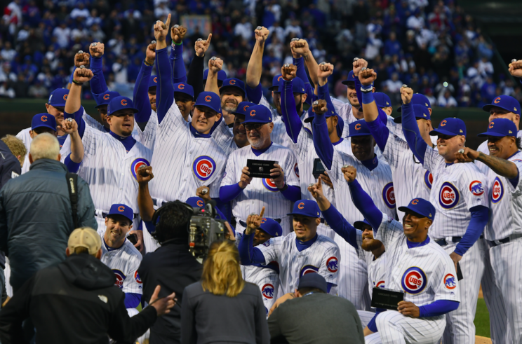 Some Cubs fans don't want to cash in on a historic moment. (AP Photo)