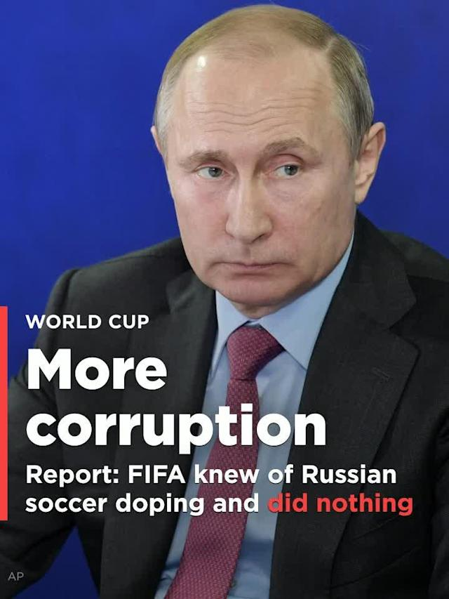 FIFA refused to act on significant evidence of widespread doping in Russia soccer, according to a new investigative report from the Mail on Sunday that reinforces past reports of similar failures.