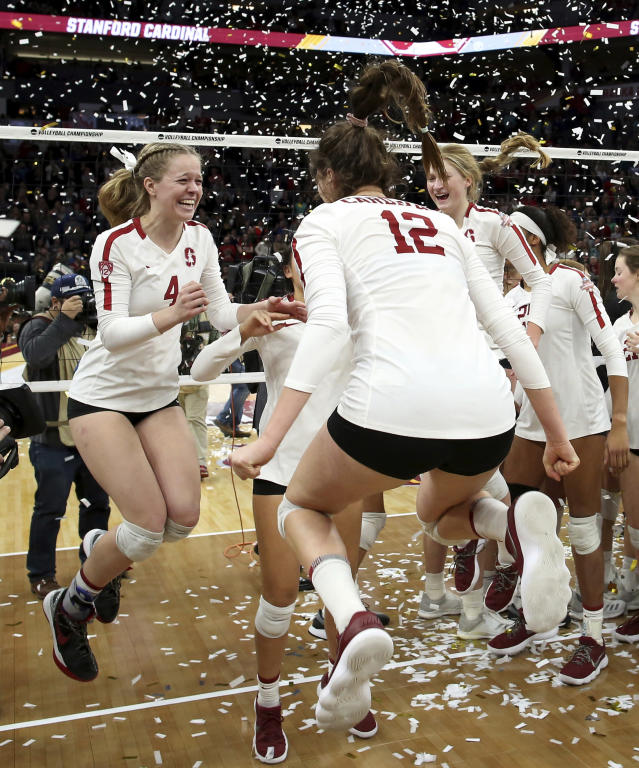 Best sports: women's volleyball, women's swimming, men's gymnastics, men's golf, women's tennis, women's water polo (all national champions). Trajectory: steady. Even by Stanford's ridiculous standards, this was an incredible year. No other school won more than two national titles, while the Cardinal won six — which ties the most in a single academic year in Stanford history. The football program has reeled off 10 straight winning seasons for the first time since 1969-78, but that doesn't even put it among the top performers on campus. If you're an athlete and you're not walking around The Farm wearing national championship gear, you're underachieving.