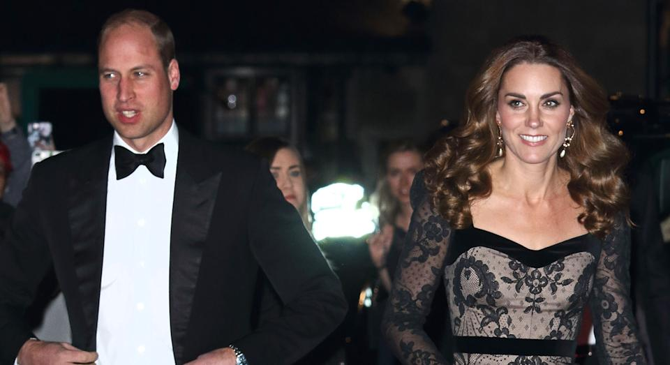 Duke and Duchess of Cambridge attend the Royal Variety Performance at the London Palladium. (Photo by Keith Mayhew / SOPA Images/Sipa USA)