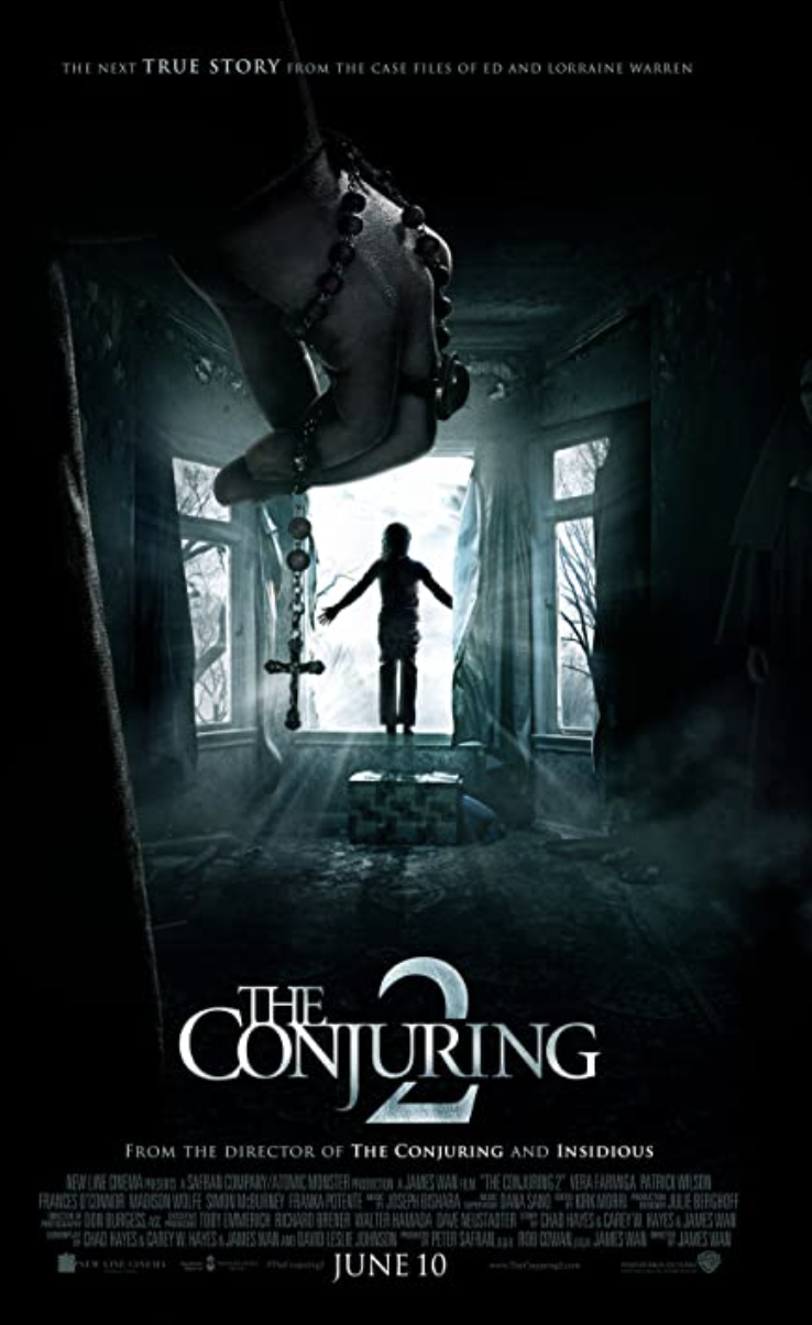 """<p>For a scary marathon, follow the original film with this 2016 sequel, in which paranormal investigators Ed and Lorraine Warren try to expel an evil force from a family's home in north London. </p><p><a class=""""link rapid-noclick-resp"""" href=""""https://www.netflix.com/search?q=conjuring+2&jbv=80091246"""" rel=""""nofollow noopener"""" target=""""_blank"""" data-ylk=""""slk:STREAM NOW"""">STREAM NOW</a></p>"""