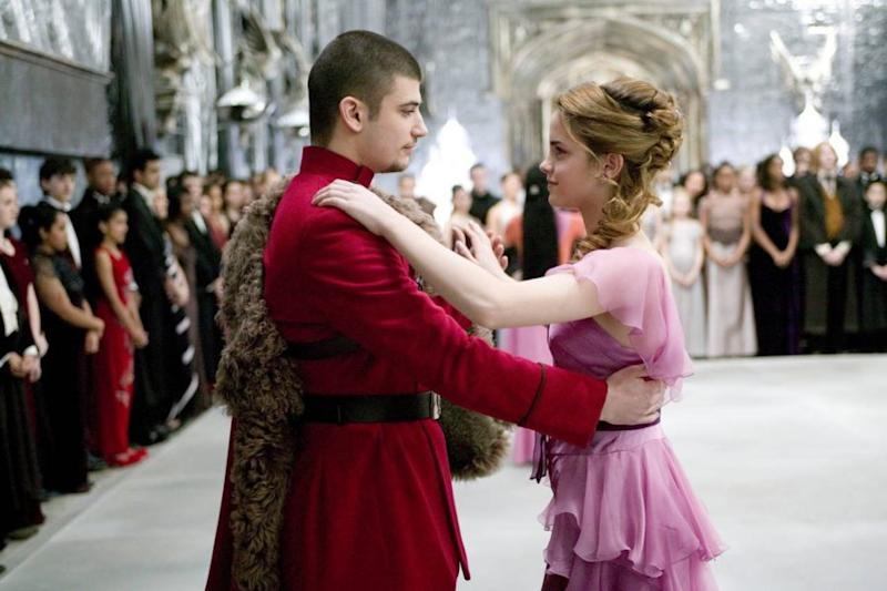 """The costume designer for the """"Harry Potter"""" movies explained the meaning  behind Hermione's Yule Ball look"""