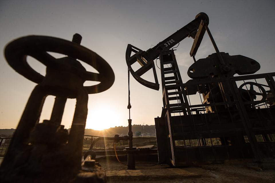 A glut of supply in Brent crude has sent prices crashing. Photo: Yegor Aleyev/Getty