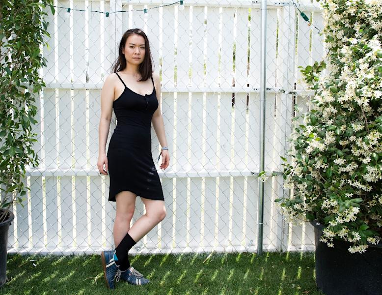 """Mitski's fourth album """"Puberty 2"""" was released last year and appeared on several critics' lists of the top albums of 2016 (AFP Photo/VALERIE MACON)"""