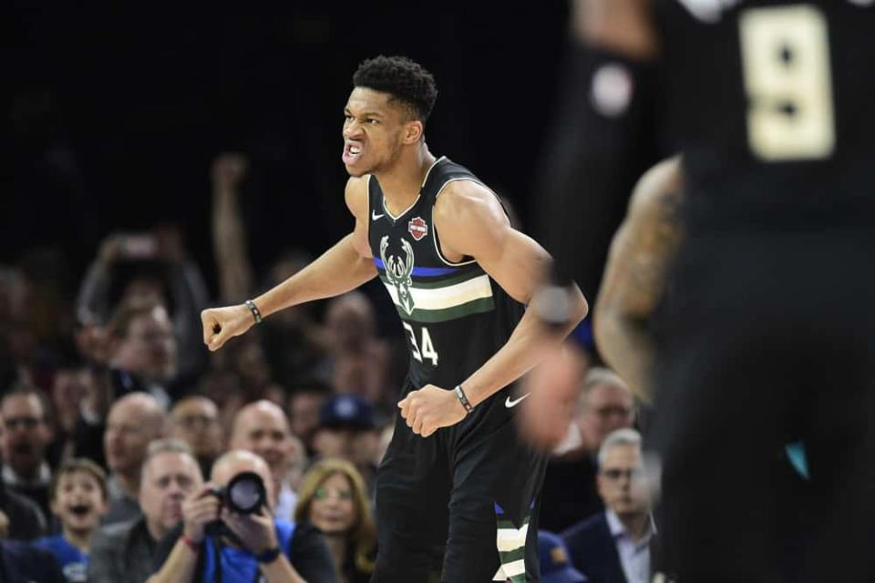 EMac gives his favorite NBA DFS picks for Yahoo, DraftKings + FanDuel daily fantasy basketball lineups, including Giannis Antetokounmpo | 6/5/21