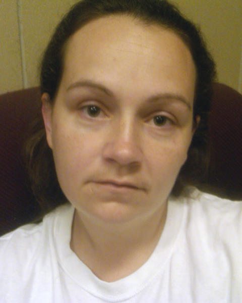 This undated photo released by the Department of Justice shows Jessica L. Hunt. Authorities in Ohio have arrested three people, including Hunt, on charges of enslaving a mentally disabled young mother and her daughter over a two-year period. Federal agents and Ashland police said Tuesday, June 18, 2013, the trio forced the woman to do housework, threatened her and the girl with violence and fed their pets better than the victims.(AP Photo/Department of Justice)
