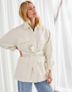"Chic, utilitarian, and kind of makes you look like you're about to go paint some watercolor. What's not to like? $129, & Other Stories. <a href=""https://www.stories.com/en_usd/clothing/jackets-coats/jackets/product.oversized-belted-cotton-jacket-white.0835879001.html"" rel=""nofollow noopener"" target=""_blank"" data-ylk=""slk:Get it now!"" class=""link rapid-noclick-resp"">Get it now!</a>"