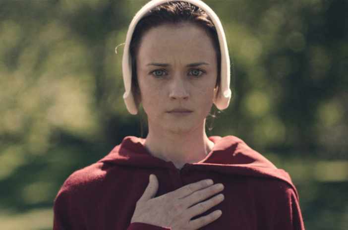 "Alexis Bledel in ""The Handmaid's Tale."" (Hulu)"