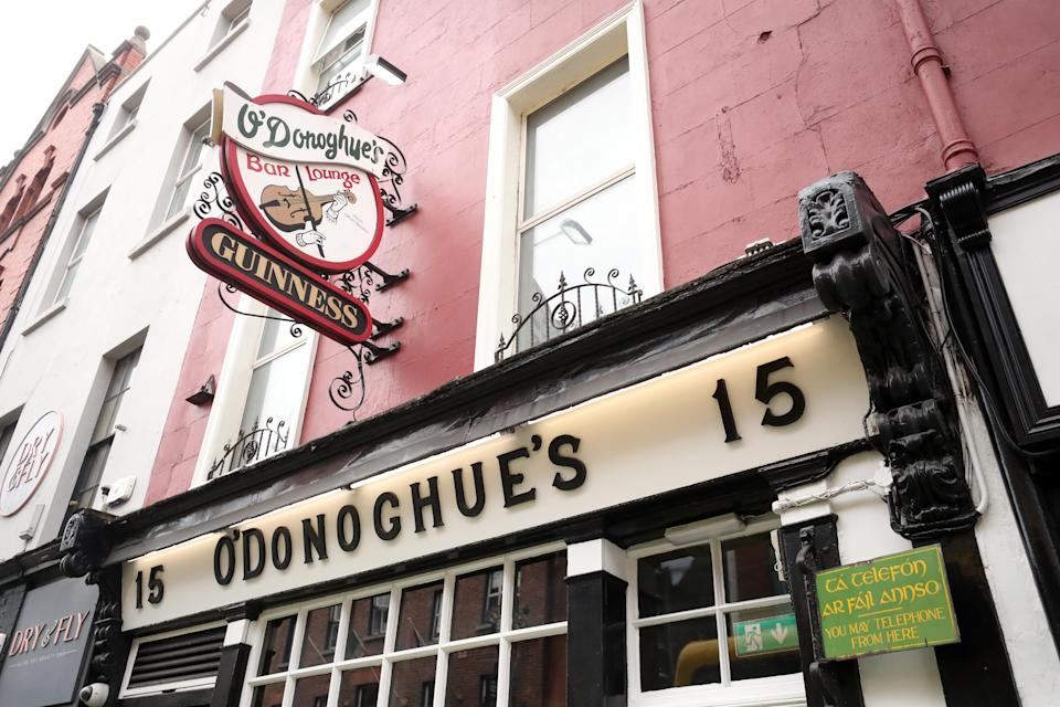 O'Donoghue's is renowned for its traditional Irish music (Niall Carson/PA)