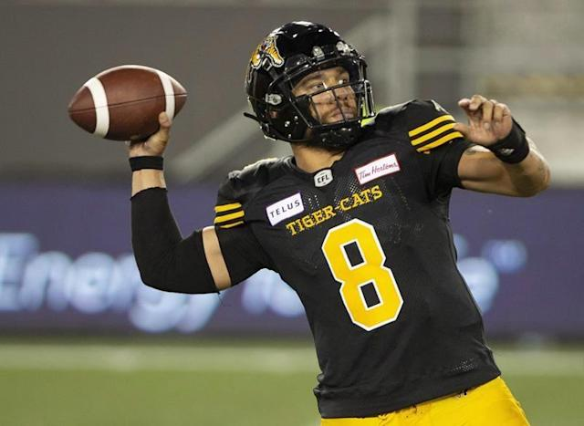 Ticats QB Masoli looks to tie CFL record for consecutive games of 300-plus yards