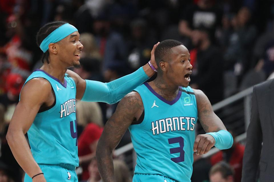 Charlotte Hornets guard Terry Rozier (3)