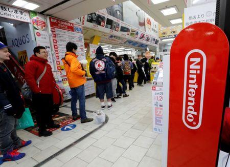 Nintendo's earnings buoyed by strong Switch console and game sales