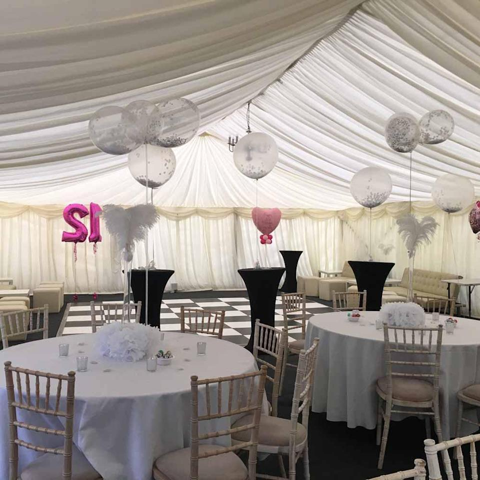 Marianna threw Graziella a stunning 21st birthday party inviting 250 guests (Collect/PA Real Life).