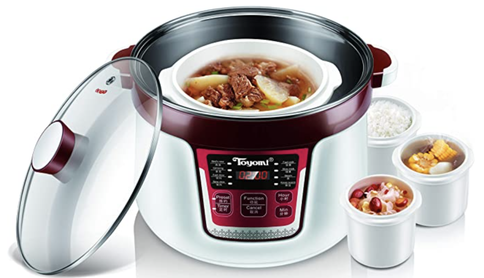 Stew Cooker & Steamer, 3.2L. PHOTO: Amazon