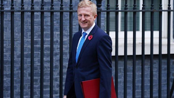 Culture Secretary Oliver Dowden says the EU are to blame
