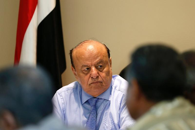 Yemeni President Abedrabbo Mansour Hadi has returned from nearly six months of exile in Saudi Arabia (AFP Photo/Ahmed Farwan)