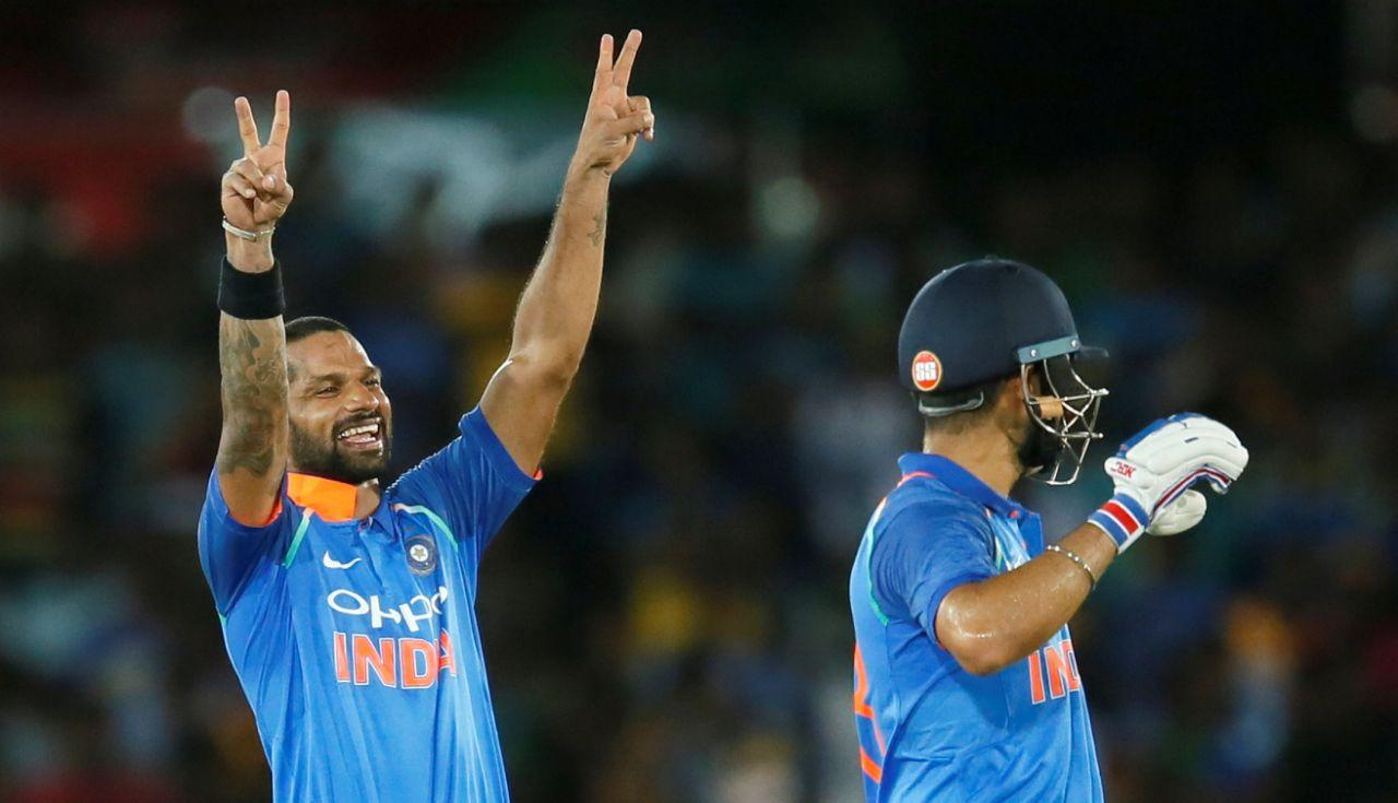 <p><strong>2.</strong> Dhawan and Kohli were involved in an unbroken stand of 197 — India's highest for the second wicket vs Sri Lanka in Sri Lanka, bettering the 188 between Gautam Gambhir and Mahendra Singh Dhoni at Colombo, RPS on February 5, 2009.<br /><strong>3.</strong> India's victory with 127 balls remaining is the fourth biggest while chasing a total of 200 or more in ODIs — the biggest being win was with 177 balls remaining by West Indies vs Canada at Centurion on February 23, 2009. </p>