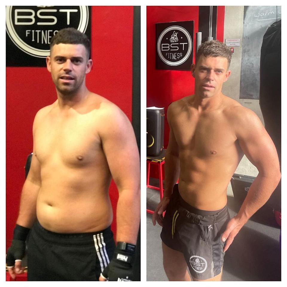 Married At First Sight's Michael Goonan body transformation