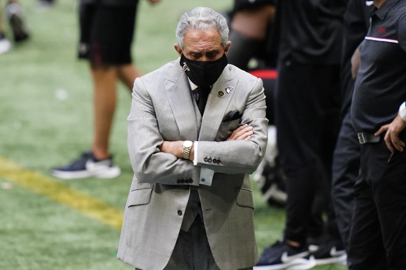 Atlanta Falcons owner Arthur Blank