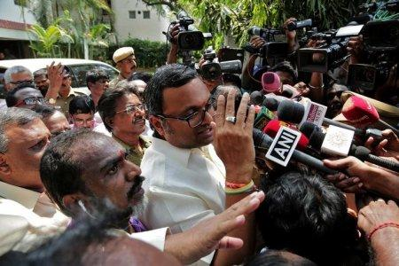 Delhi court sends Karti Chidambaram to CBI custody for a day
