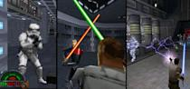 <p>OK, we totally cheated. But this trilogy of superlative <i>Star Wars</i> shooters, comprising the adventures of swashbuckling Jedi Kyle Katarn, was so good we couldn't pick just one. While <i>Dark Forces</i> from 1995 was one of the best <i>Doom</i>-era shooters, 1997's <i>Jedi Knight</i> blew the first-person genre wide open with massive, vertiginous levels, making it probably the best shooter before <i>Half-Life</i>. <i>Jedi Outcast, </i>released in 2002, kept up the high standard, implementing Jedi powers so smoothly into shooter gameplay that you couldn't help feeling the Force flowing through you.</p>