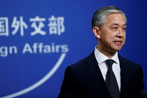 China's embassy and several consulates in the US have received bomb and death threats, according China's foreign ministry spokesman Wang Wenbin. Photo: Reuters
