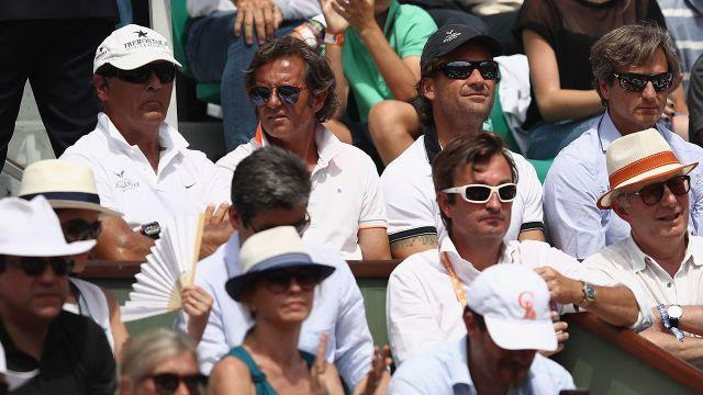 Toni (far left) and Moya (third from left). Image: Getty