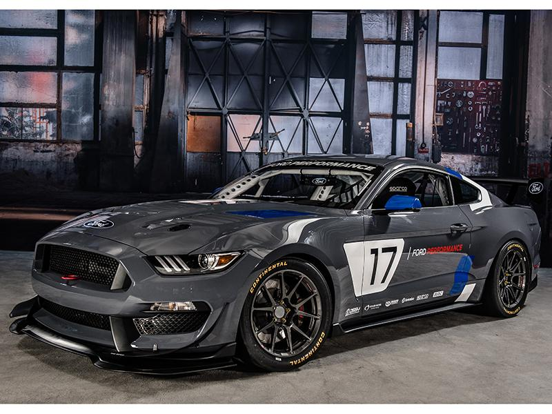 Ford Reveals Badass Mustang Gt4 Race Car At Sema