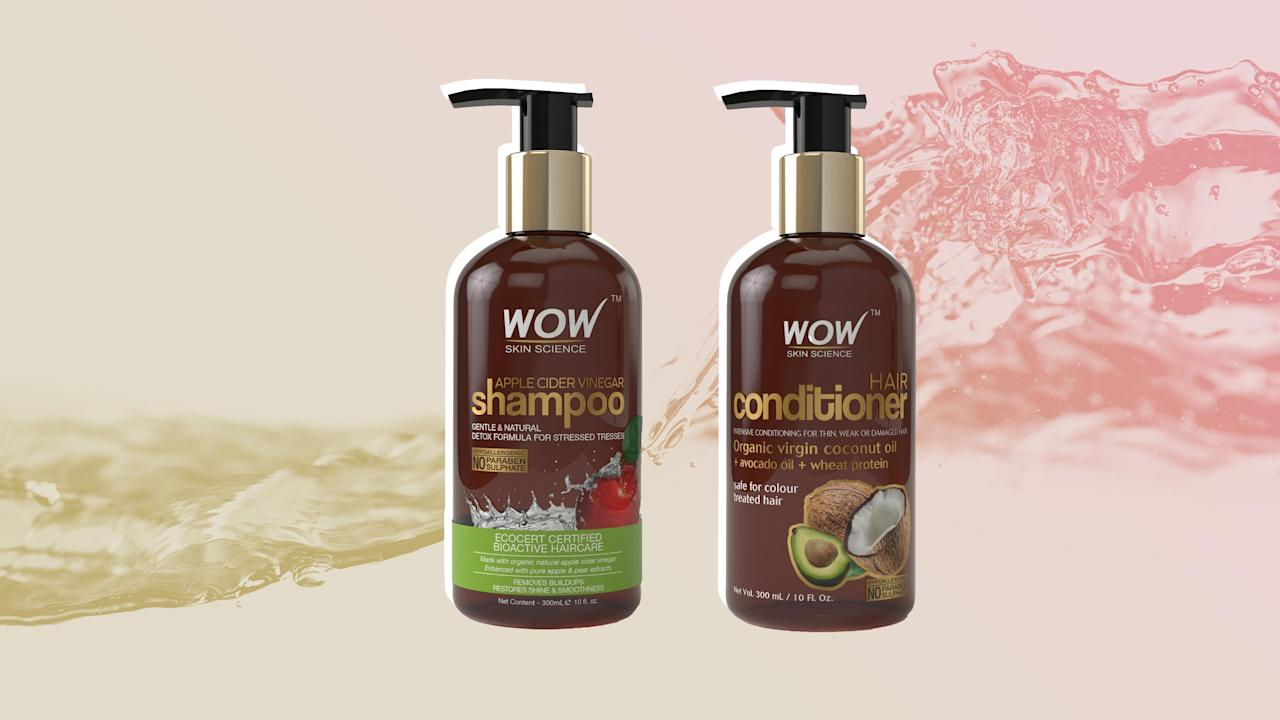 The Apple Cider Vinegar Shampoo and Conditioner That