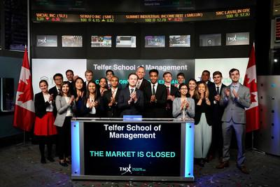 Telfer School of Management Closes the Market (CNW Group/TMX Group Limited)