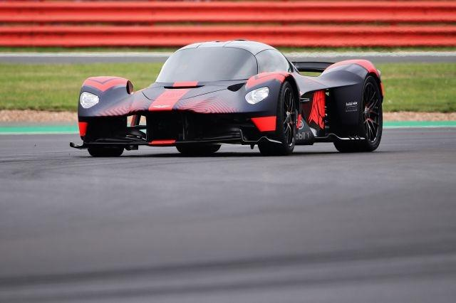 The highly-anticipated Aston Martin Valkyrie made its public debut in UK this past weekend