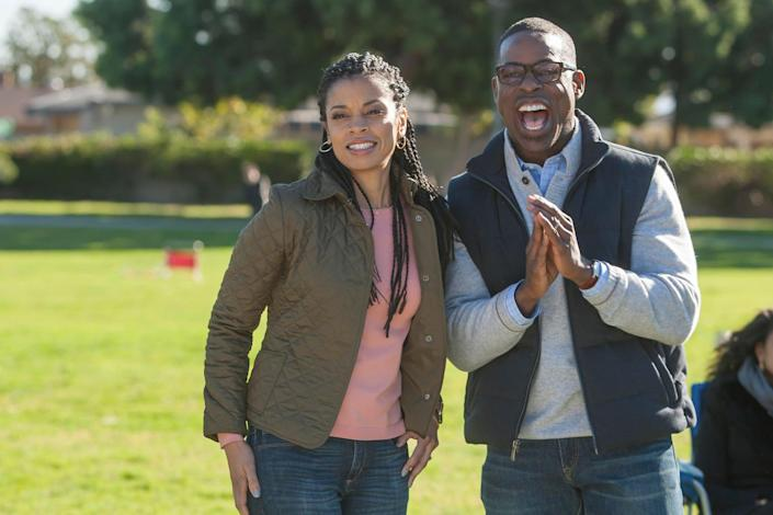 """<p>Sure, <strong>This Is Us</strong> makes us cry on a weekly basis, but the family drama also provides some lovable romance. Whether you can't stop obsessing over how perfect Randall and Beth are or you're all in on the Jack and Rebecca flashbacks, there's no denying this show knows how to keep viewers coming back for more.</p> <p><a href=""""https://www.hulu.com/series/9dc170da-85db-475d-9df4-6572f15ffb00"""" class=""""link rapid-noclick-resp"""" rel=""""nofollow noopener"""" target=""""_blank"""" data-ylk=""""slk:Watch This Is Us on Hulu."""">Watch <strong>This Is Us</strong> on Hulu.</a></p>"""