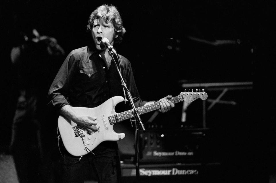 John Fogerty Performs On Stage