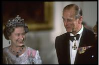 """<p>If you're starting to think that royal Christmases aren't super fancy, don't worry, they are. The Christmas dinner menu, for example, is <a href=""""https://www.thesun.co.uk/fabulous/10510311/royal-family-christmas-tradition-queen-martini-prince-philip-tree/"""" rel=""""nofollow noopener"""" target=""""_blank"""" data-ylk=""""slk:reportedly"""" class=""""link rapid-noclick-resp"""">reportedly</a> in French. </p>"""