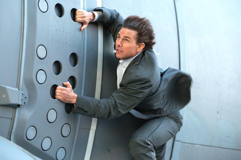 Tom Cruise posts pic of insane new Mission: Impossible 6 stunt
