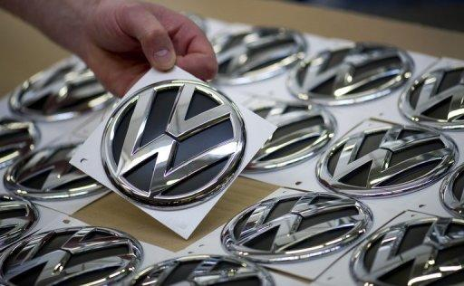 VW hits global sales record, still trails Toyota