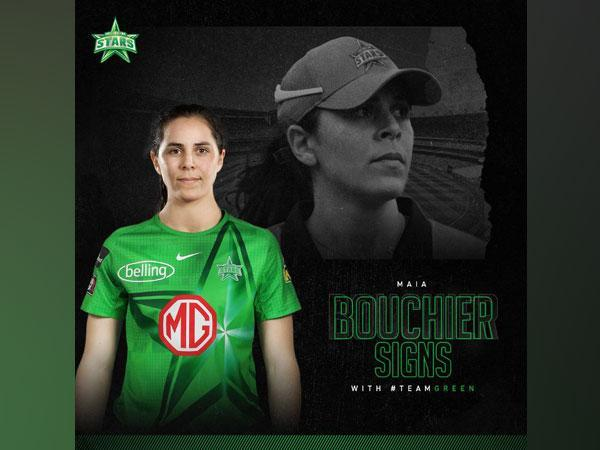Maia Bouchier signs for Melbourne Stars (Photo/ Melbourne Stars Twitter)