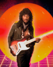 """<p>It's Rick James … well, you know. Usher chose to dress as the """"Super Freak"""" artist, guitar and all. (Photo: Instagram/Usher) </p>"""
