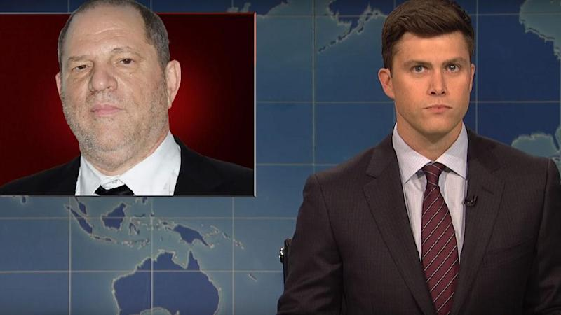 'Saturday Night Live' Takes Aim At Harvey Weinstein Scandal, Pulls No Punches With Biting Commentary