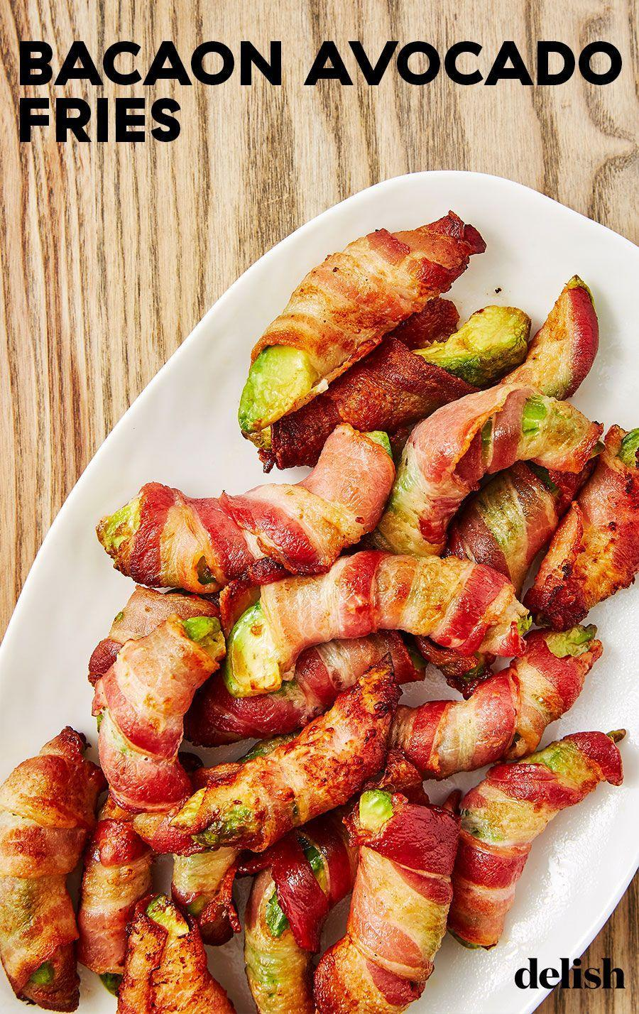"""<p>Simply mouth-watering.</p><p>Get the recipe from <a href=""""https://www.delish.com/cooking/recipe-ideas/recipes/a48261/bacon-avocado-fries-recipe/"""" rel=""""nofollow noopener"""" target=""""_blank"""" data-ylk=""""slk:Delish"""" class=""""link rapid-noclick-resp"""">Delish</a>.</p>"""