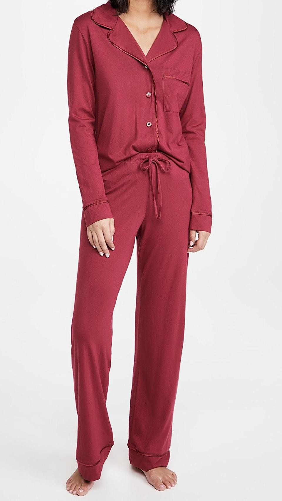 <p>Have sweet dreams in this cozy <span>Cosabella Bella Relaxed PJ Set</span> ($130).</p>