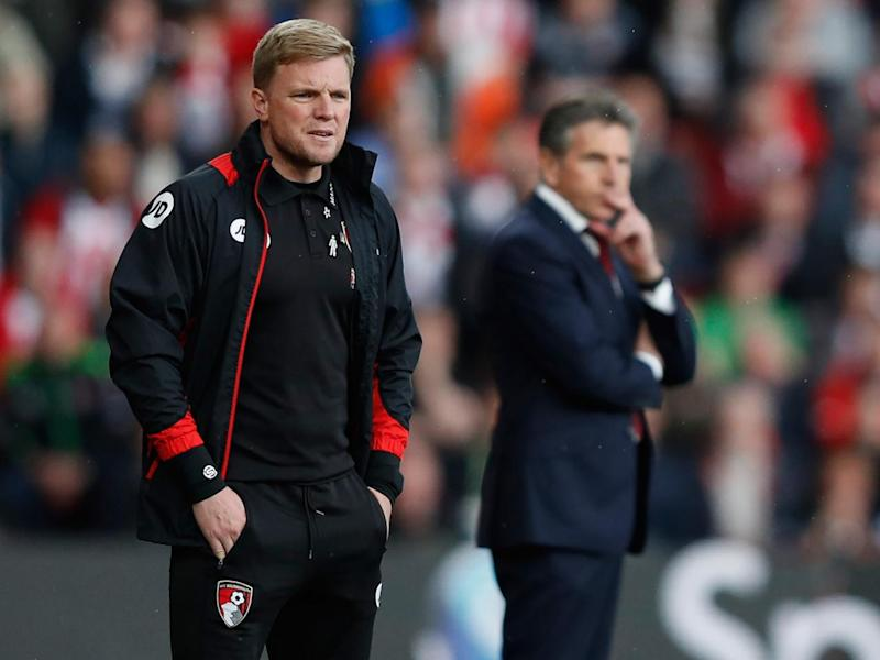 Eddie Howe saw his side miss a third successive penalty (Getty)