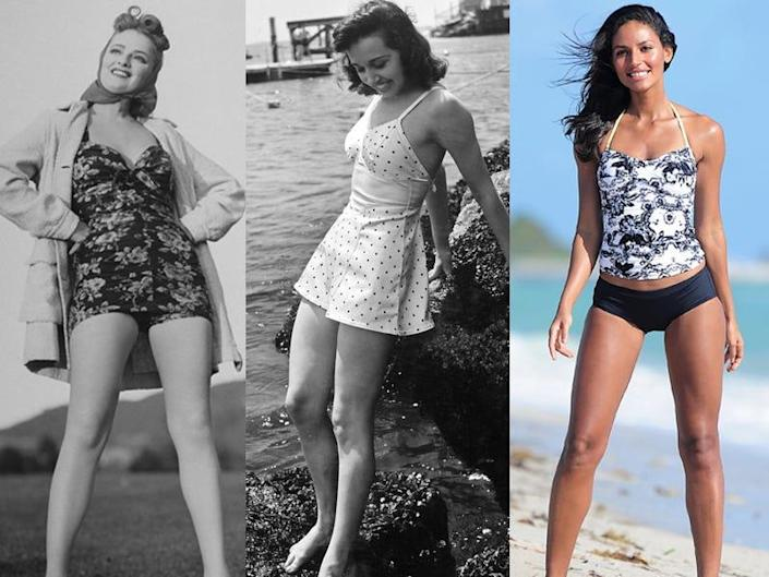 evolution of swimsuits