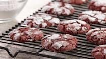 "<p>These red velvet crinkle cookies are just what <a href=""https://www.thedailymeal.com/holidays/12-things-you-didnt-know-about-santa-0?referrer=yahoo&category=beauty_food&include_utm=1&utm_medium=referral&utm_source=yahoo&utm_campaign=feed"" rel=""nofollow noopener"" target=""_blank"" data-ylk=""slk:Kris Kringle"" class=""link rapid-noclick-resp"">Kris Kringle</a> might want on his plate of cookies. They're soft and velvety, just like his bright red suit.</p> <p><a href=""https://www.thedailymeal.com/recipe/red-velvet-crinkle-cookies?referrer=yahoo&category=beauty_food&include_utm=1&utm_medium=referral&utm_source=yahoo&utm_campaign=feed"" rel=""nofollow noopener"" target=""_blank"" data-ylk=""slk:For the Red Velvet Crinkle Cookies recipe, click here."" class=""link rapid-noclick-resp"">For the Red Velvet Crinkle Cookies recipe, click here.</a></p>"