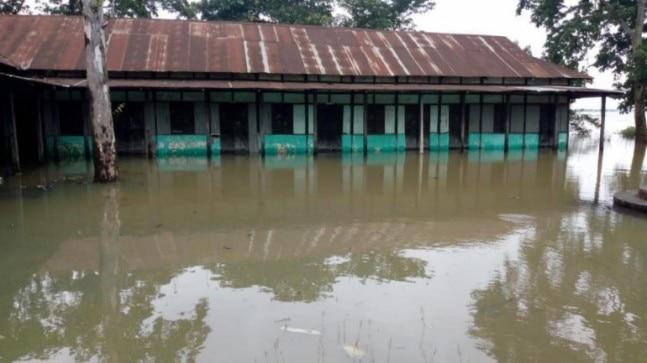 So far, around 1.55 lakh people have been affected in the flood in the past week in Meghalaya.