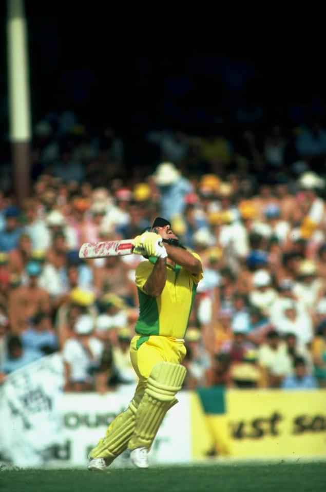 Jan 1983:  Rodney Marsh of Australia in action during a match against England in Sydney, Australia. \ Mandatory Credit: Adrian  Murrell/Allsport